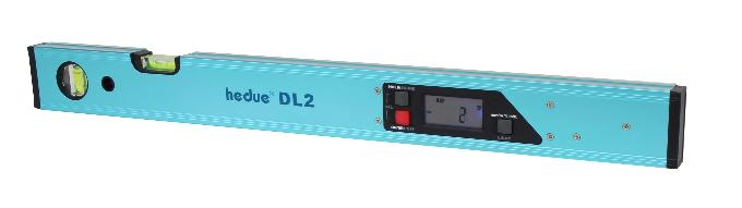 Digitale Wasserwaage hedue DL2 60 cm