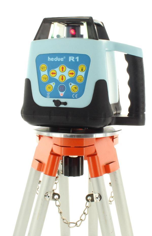 Rotationslaser hedue R1 mit Laser-Empfänger E3