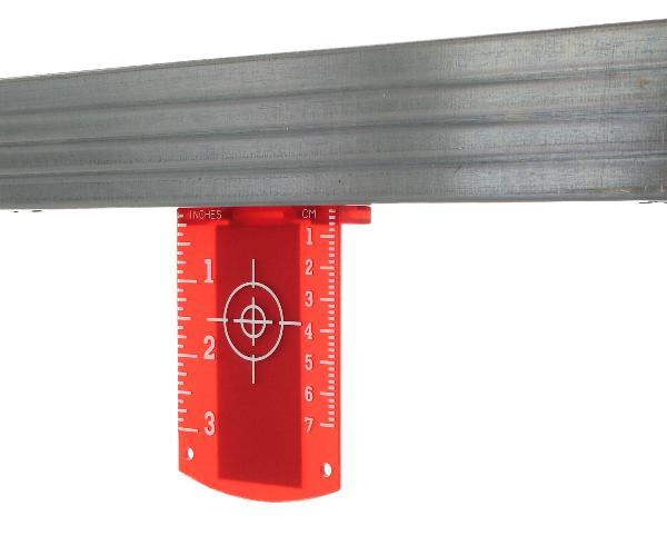 Zieltafel (rot)