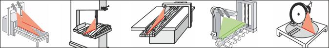 Positionier-Laser