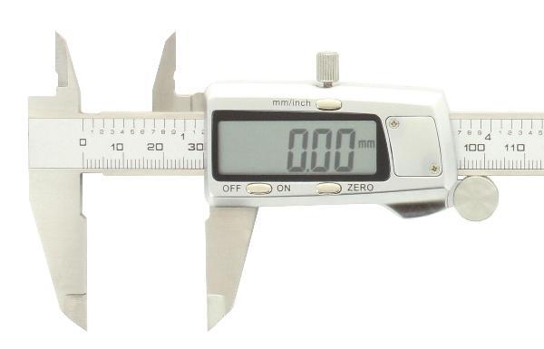 Digital Messschieber 150 mm Edelstahl