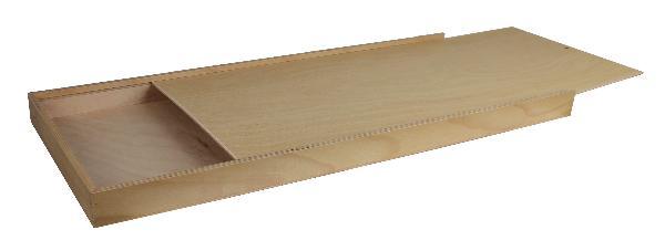Holzkasten zu Wandmesskluppe