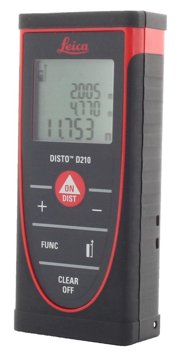 Laser-Entfernungsmesser Leica Disto D210