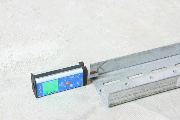 Laser-Entfernungsmesser hedue EM1