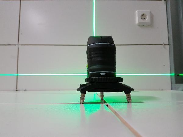 Laser Entfernungsmesser Linienlaser : Linienlaser hedue l1g set