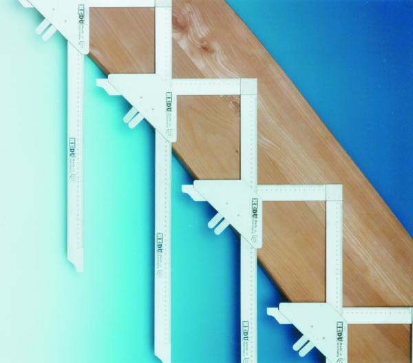 Treppen-Anreisswinkel Grundpackung 5 + 6