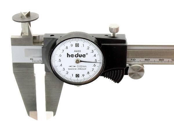 Uhr-Messschieber 200 mm