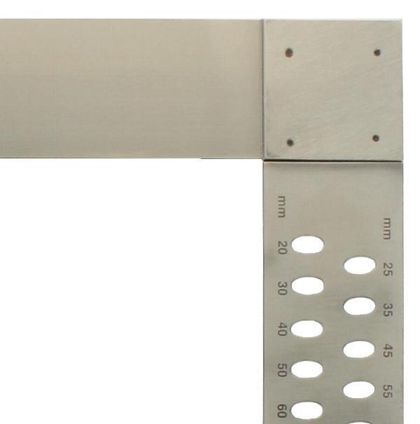 Zimmermannswinkel hedue ZP 1000 mm mit Anreißlöcher
