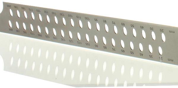 Zimmermannswinkel hedue ZV 1000 mm mit mm-Skala Typ A und Anreißlöcher