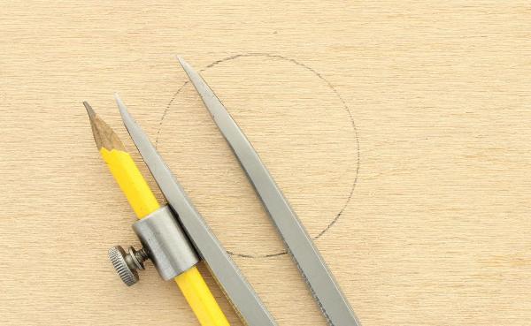 Zirkel 20 cm mit Bleistifthalter