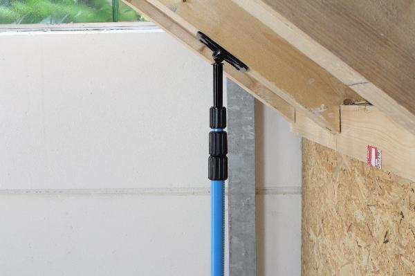 Clamping column hedue LP4 3.6 m