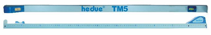 Telescopic measuring rod hedue TM5