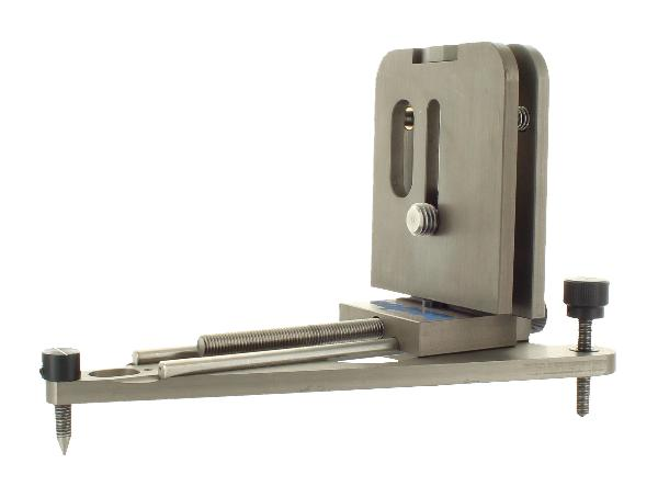 Wall Mount with fine drive for Rotating Laser