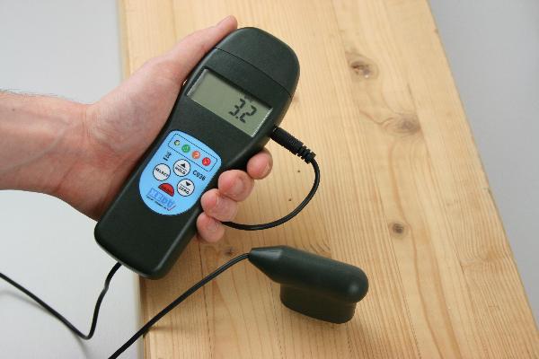 Dispositivo de medición de la humedad hedue C036