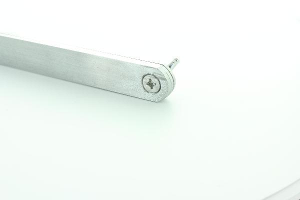 Falsa escuadra de acero 20 cm