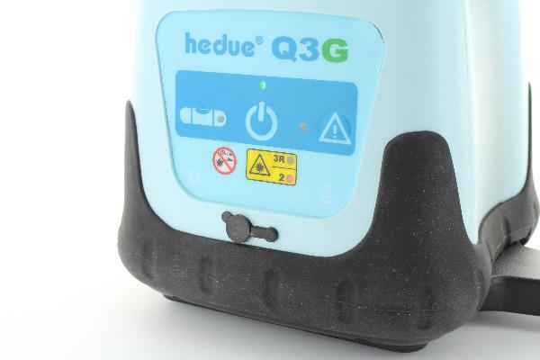 Láser giratorio hedue Q3G en Systainer con receptor E2
