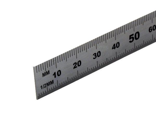 Regla de acero 15 cm