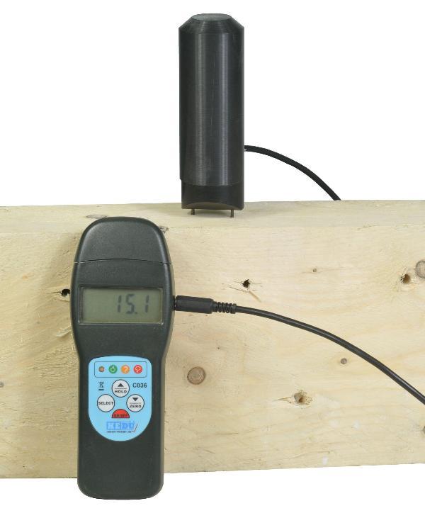 Électrode à enfoncer hedue C037