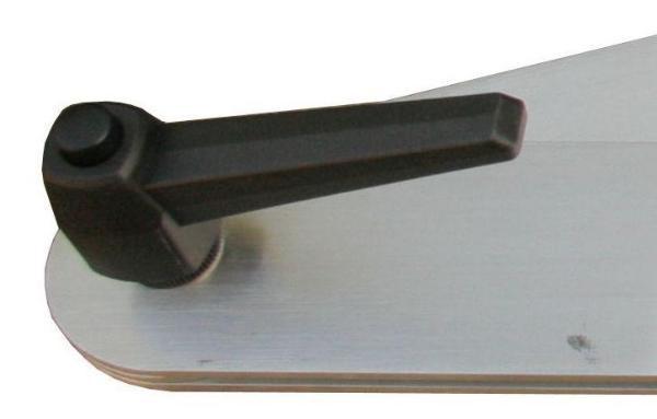 Aluminium-Fausse équerre 600 mm