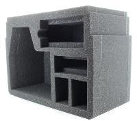 Compartiment intérieur pour laser rotatif
