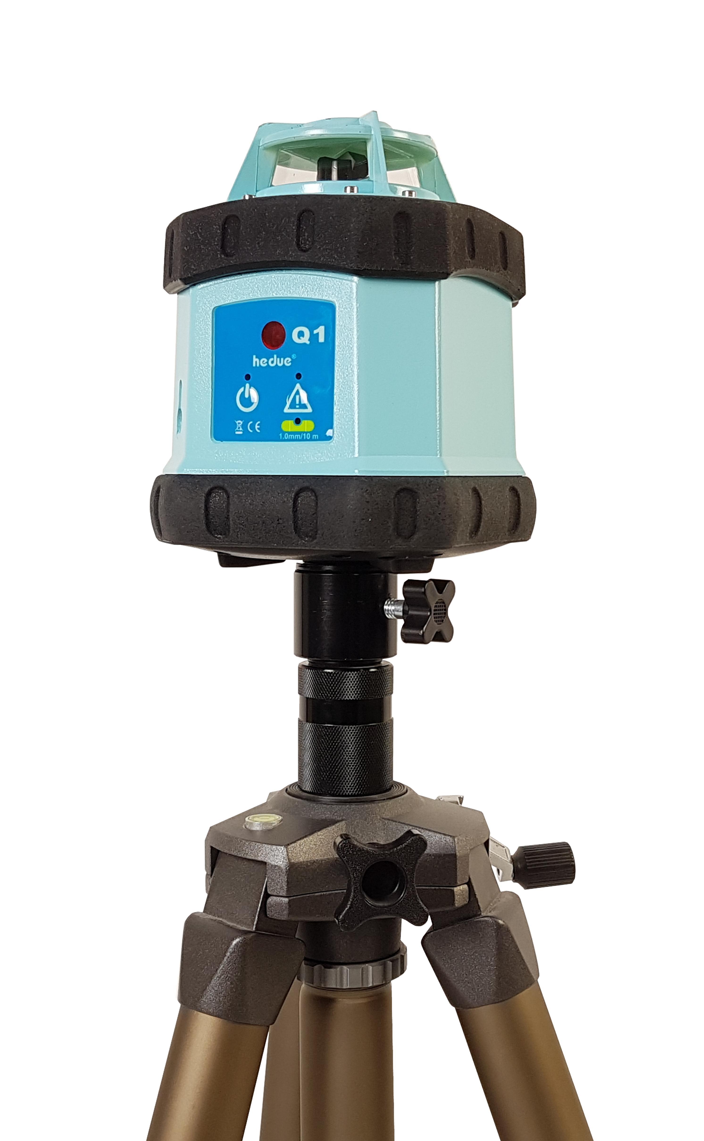 Laser rotatif hedue Q1 en cas de