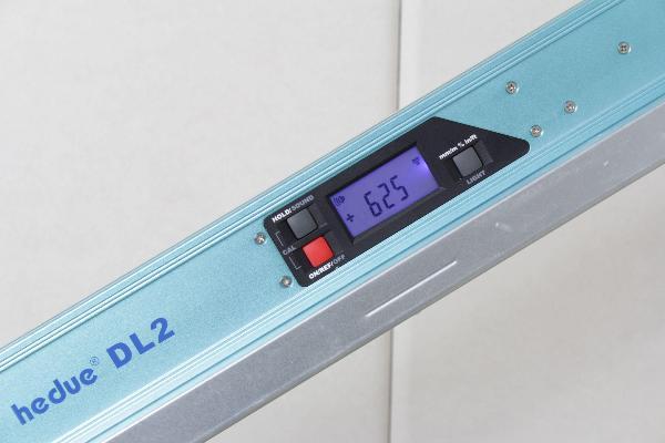 Niveau à bulle numérique  hedue DL2 60 cm
