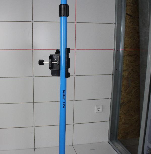 Tige télescopique hedue LP4 3,6 m