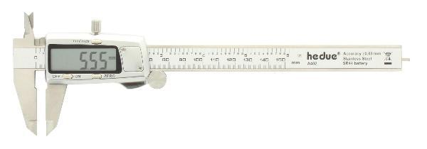 Calibro digitale a corsoio 150 mm acciaio inossidabile