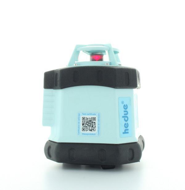 Laser rotante hedue Q1 nel caso in cui