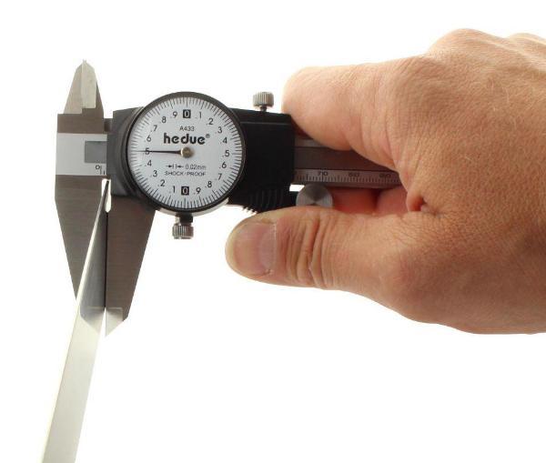 klok-schuifmaat 200 mm