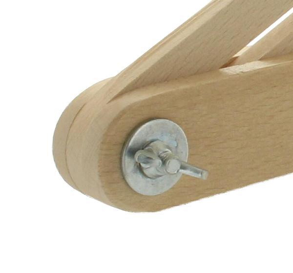 Skośnica z drewna bukowego 30 cm