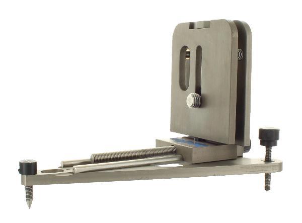Statyw na podłogę i na ścianę z precyzyjnym mechanizmem dla laserów obrotowych