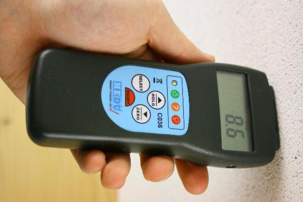 Dispositivo de medição de umidade hedue C036