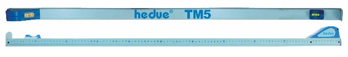 Haste telescópica de medição hedue TM5