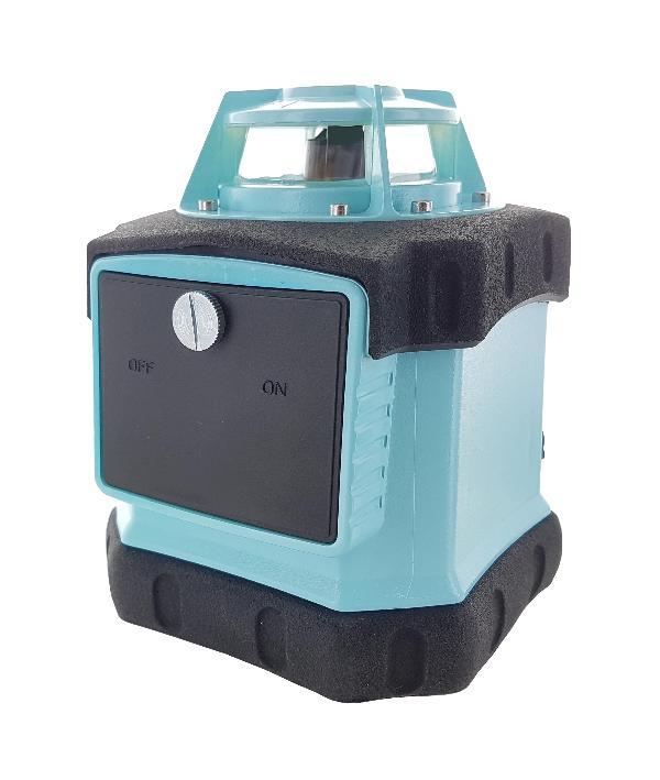 Laser rotativo hedue Q1 no caso de