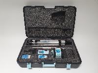 Laser rotativ hedue Q1 im großen Koffer
