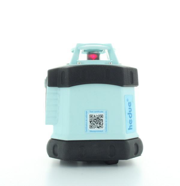 Laser rotativ hedue Q1 in Tasche