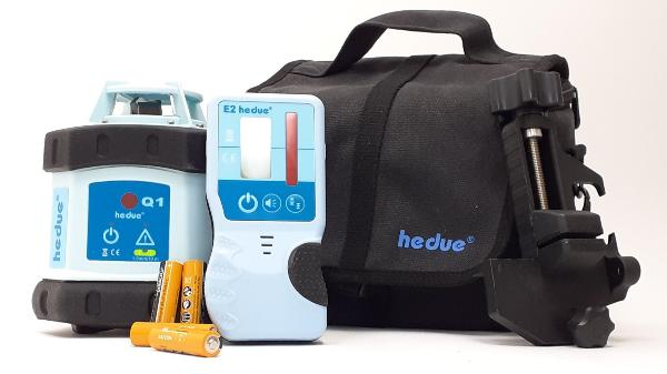 Вращающийся лазер hedue Q1 в мешке