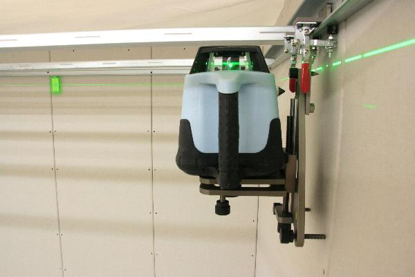 Вращающийся лазер hedue Q3G в Systainer с приемником E2