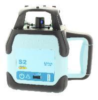 Laser rotativo hedue S2 com Leica Rod-Eye 160 Digital